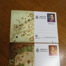 Sellos: ESPAÑA: ENTEROS POSTALES N°121/22,NUEVOS. Lote 168063084