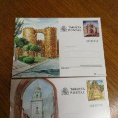 Sellos: ESPAÑA : ENTEROS POSTALES N°133/34,NUEVOS. Lote 168063218