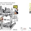 Sellos: ¡NOVEDAD! ESPAÑA SPAIN FERIA NACIONAL SELLO 2019 HUMOR GRÁFICO EDIFIL 152 SOBRE ENTERO POSTAL SEP. Lote 168318992