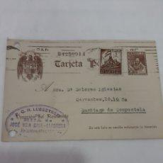 Sellos: 1942 LUBSZYNSN LIBRERIA JOSÉ VILA BALL BA6. Lote 168444942