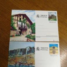Sellos: ESPAÑA : ENTEROS POSTALES N°147/48,NUEVOS. Lote 208155625