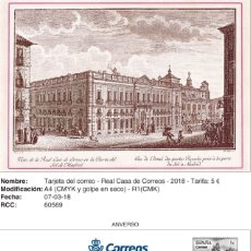 Sellos: TARJETAS 50 ANIVERSARIO FERIA NACIONAL SELLO IV. CENT PLAZA MAYOR. Lote 178882033