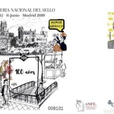 Sellos: ¡NOVEDAD! ESPAÑA SPAIN FERIA NACIONAL SELLO 2019 HUMOR GRÁFICO EDIFIL 152 SOBRE ENTERO POSTAL SEP. Lote 180035725