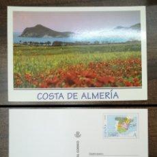 Sellos: ESPAÑA SPAIN 1997 TARJETA DEL CORREO EDIFIL 25 COSTA DE ALMERÍA ENTERO POSTAL. Lote 180039248
