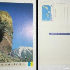 Sellos: ESPAÑA SPAIN 1995 TARJETA DEL CORREO EDIFIL 16 CANARIAS ENTERO POSTAL. Lote 180132540