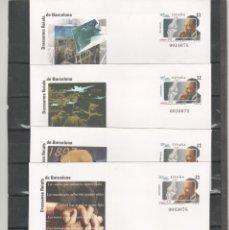 Sellos: ESPAÑA-S. E. POSTAL Nº39 -CUATRO VERSIONES BARNAFIL 97 NUEVOS (SEGÚN FOTO). Lote 182394166