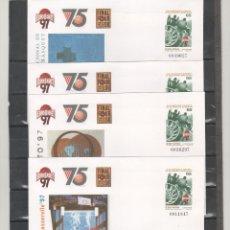 Sellos: ESPAÑA-S. E. POSTAL Nº42 -CUATRO VERSIONES EUROBASKET 97 NUEVOS (SEGÚN FOTO). Lote 182405545