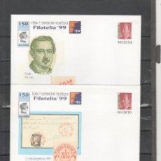 Sellos: ESPAÑA-S. E. POSTAL Nº 57 EX.FILATELIA 99 -MADRID DOS VERSIONES NUEVOS (SEGÚN FOTO). Lote 182409147