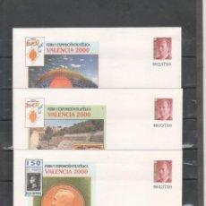 Sellos: ESPAÑA-S. E. POSTAL Nº 58 VALENCIA 2000 TRES VERSIONES NUEVOS (SEGÚN FOTO). Lote 182410455