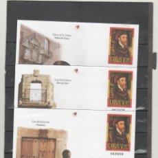 Sellos: ESPAÑA-S. E. POSTAL Nº 65/66 CENTENARIO CARLOS V TRES VERSIONES NUEVOS (SEGÚN FOTO). Lote 182411757