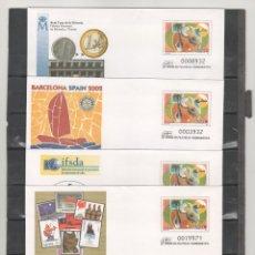 Sellos: ESPAÑA-S. E. POSTAL Nº 77 BARNAFIL 2002 4 VERSIONES NUEVAS (SEGÚN FOTO). Lote 182412700