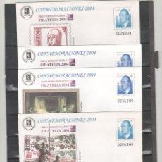 Sellos: ESPAÑA-S. E. POSTAL Nº 96 CONMEMORACIONES 2003 CUATRO VERSIONES NUEVAS (SEGÚN FOTO). Lote 182414490