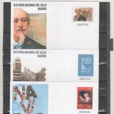 Sellos: ESPAÑA-S. E. POSTAL Nº 129/31 CONMEMORACIONES 2010 TRES VERSIONES NUEVAS (SEGÚN FOTO). Lote 182414785