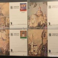 Sellos: 1975-ESPAÑA 107 108 109 110 TARJETAS ENTERO POSTALES 107/110 EXPOSICIÓN MUNDIAL FILATELIA ESPAÑA´75. Lote 261595210