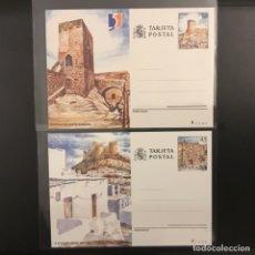 Sellos: 1990-ESPAÑA 149/50 TARJETAS ENTERO POSTALES 149/150 TURISMO. Lote 261601210