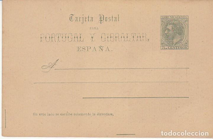 EP. XX 13. ALFONSO XII. 1884 (Sellos - España - Entero Postales)