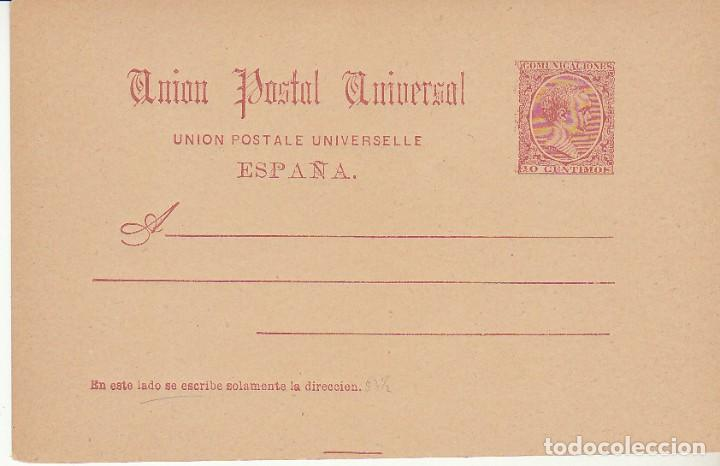 EP. XX 29. ALFONSO XIII. 1890 (Sellos - España - Entero Postales)