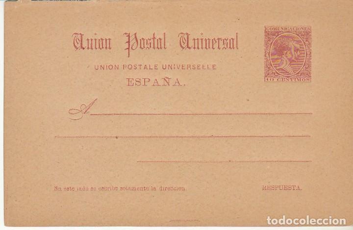 EP. XX 33. ALFONSO XIII. 1892 (Sellos - España - Entero Postales)