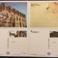 Sellos: 2014-ESPAÑA TARJETAS INICIATIVA PRIVADA EDIFIL 93/94 MUSEOS. Lote 185745911