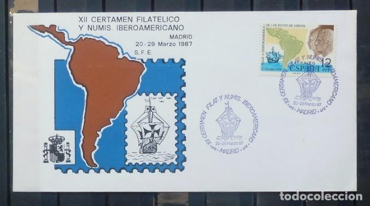 FOTO 631- CERTAMEN HISPANO/AMERICADO (Sellos - España - Entero Postales)