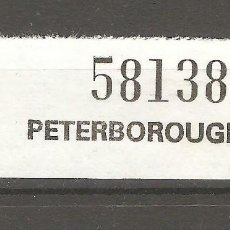 Sellos: RESGUARDO POSTAL PETERBOROUGH.. Lote 187383713