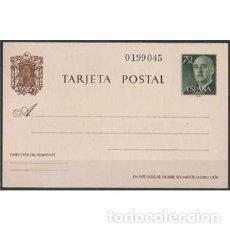 Sellos: ESPAÑA SPAIN 1960 TARJETA ENTERO POSTAL EDIFIL 90 GENERAL FRANCO. Lote 221725333