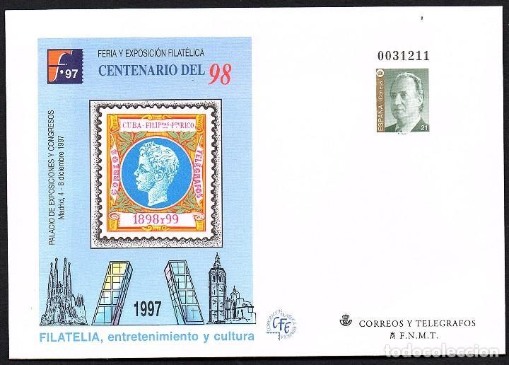 SOBRE ENTERO POSTAL NUEVO EDIFIL Nº 12 XIII CERT. FILATELICO IBERO-AMERICANO. 1989 BURGOS (Sellos - España - Entero Postales)