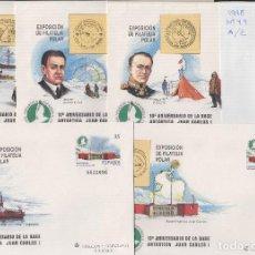 Selos: SOBRES ENTEROS POSTALES ESPAÑA 1998 ED Nº 49 A/E - EXPOSICIÓN POLAR MADRID -- SOBRE ENTERO. Lote 195498471