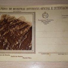 Sellos: ENTERO POSTAL VI FERIA DE MUESTRAS ASTURIANA, GIJON, AÑO 1929. Lote 195517401
