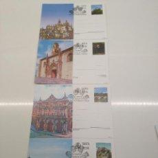 Selos: TARJETA POSTAL 163-164-165-166 AÑO 1997 MATASELLOS ENTEROPOSTALES PRIMER DIA MADRID HERALDICA. Lote 196445578