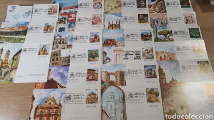 21 ENTEROS POSTALES PRIMER DIA DE CIRCULACION C725 (Sellos - España - Entero Postales)