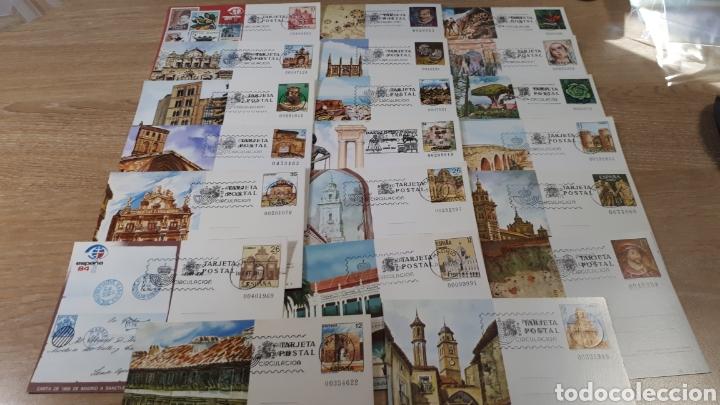 20 ENTEROS POSTALES PRIMER DIA DE CIRCULACION C727 (Sellos - España - Entero Postales)
