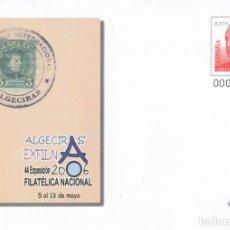Sellos: SOBRE ENTERO POSTAL 2006 ALGECIRAS EXFILNA 2006 NUMS. 109*. Lote 283160858