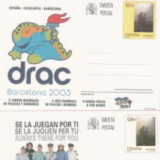 Sellos: 2 ENTEROS POSTALES AÑO 2003 NUMS. 168-169. Lote 212852696