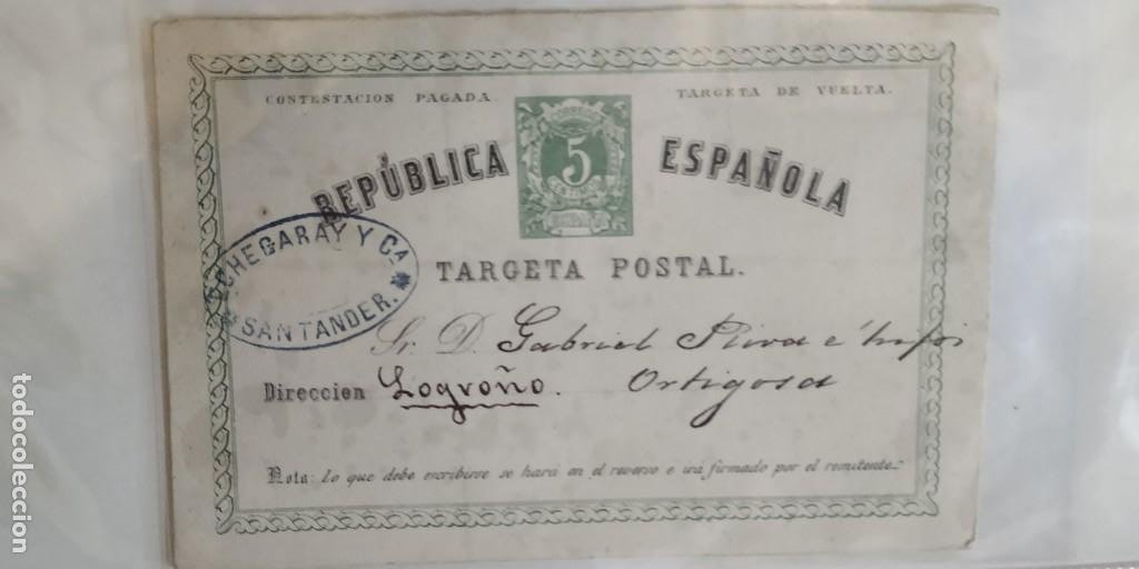 Sellos: Republica Española. 3 Tarjetas postales. - Foto 5 - 203261645