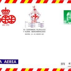 Sellos: SOBRE ENTERO POSTAL IBEROAMERICANA 1987 DESCUBRIMIENTO NUEVO EDIFIL 7. Lote 203432857
