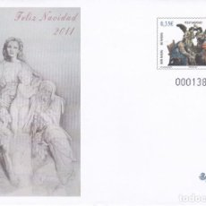 Francobolli: 2011 - SOBRE ENTERO POSTAL -Nº 134 NAVIDAD 2011. Lote 203615490