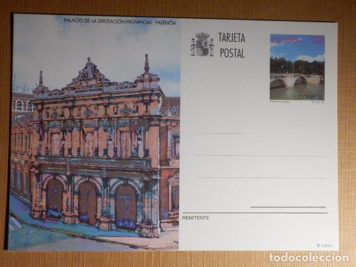 ESPAÑA -1997 - PALACIO DIPUTACION PROVINCIAL - PALENCIA - EDIFIL 164 - ENTERO POSTAL (Sellos - España - Entero Postales)