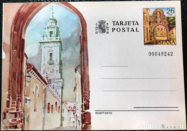 TARJETA ENTERO POSTAL Nº 134 AÑO 1983. (Sellos - España - Entero Postales)
