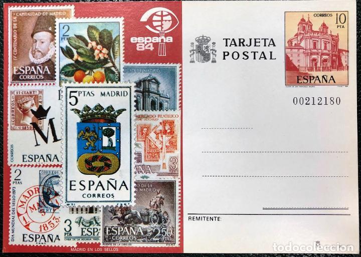TARJETA ENTERO POSTAL Nº 135, DEL AÑO 1984. (Sellos - España - Entero Postales)