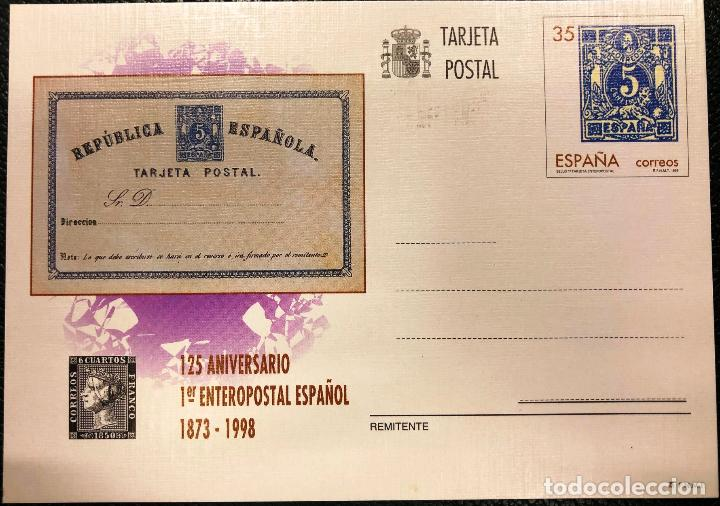 TARJETA ENTERO POSTAL Nº 167, DEL AÑO 1998. (Sellos - España - Entero Postales)