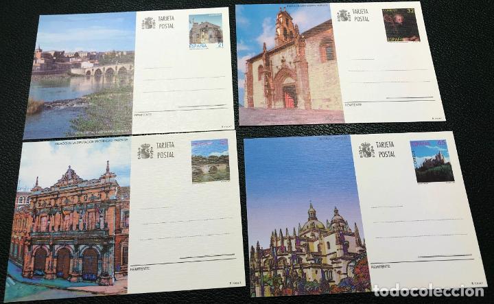 TARJETAS ENTERO POSTALES Nº 163 AL 166, DEL AÑO 1997. (Sellos - España - Entero Postales)