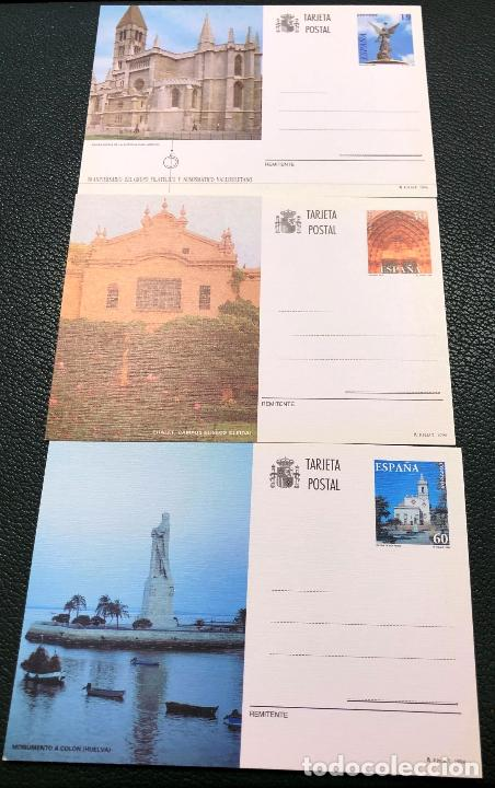 TARJETAS ENTERO POSTALES Nº 160 AL 162, DEL AÑO 1996. (Sellos - España - Entero Postales)