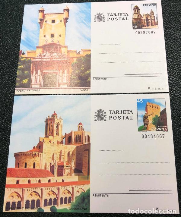 TARJETAS ENTERO POSTALES Nº 145 Y 146, DEL AÑO 1988. (Sellos - España - Entero Postales)