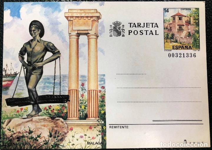 Sellos: Tarjetas entero postales nº 143 y 144, del año 1987. - Foto 2 - 205780610