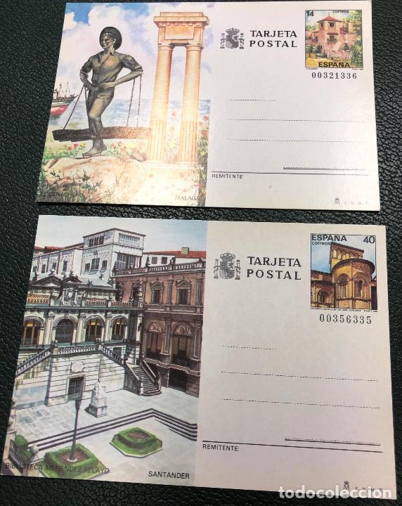 TARJETAS ENTERO POSTALES Nº 143 Y 144, DEL AÑO 1987. (Sellos - España - Entero Postales)