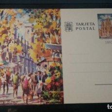 Sellos: TARJETA ENTERO POSTAL.TURISMO. RAMBLA DE LAS FL (BARCELONA). 3 DICIEMBRE DE 1973.. Lote 205800875