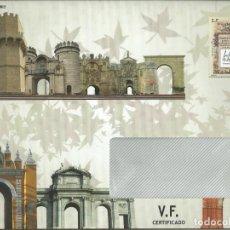 Timbres: 2 SOBRES ENTERO POSTAL DEL SFC , NUEVO , PARA EL ENVÍO A LOS ABONADOS DE MATERIAL FILATELICO 20121. Lote 206396275