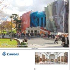Sellos: 3 TARJETAS PREFRANQUEADAS MUSEOS 2019 MUSEO DEL PRADO. Lote 206773442
