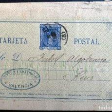 Sellos: ESPAÑA. ENTERO POSTAL 8. OCT-1875. PRIMEROS DIAS CIRCULACION. Lote 207340477